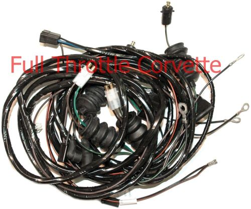 small resolution of details about 1964 corvette coupe rear body wiring harness with back up lights