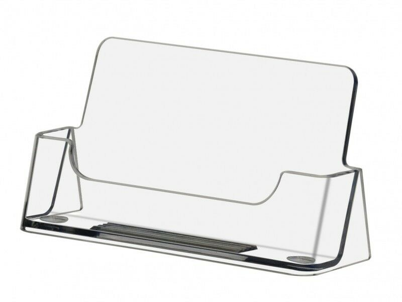 Qty 1000 business card display stand holders Wholesale
