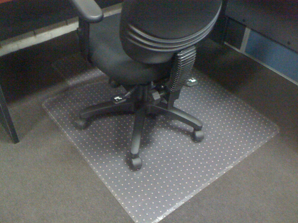 office chair mats for carpet wedding cover hire cwmbran new commercial floor chairs and desk | ebay