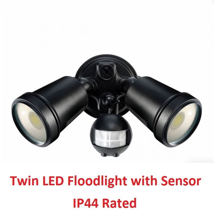 Have Replaced An Outside Security Pir Light Twin Lights