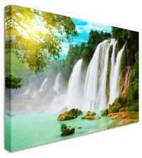 Large Picture Of Waterfall Chinese & Vietnamese border ...