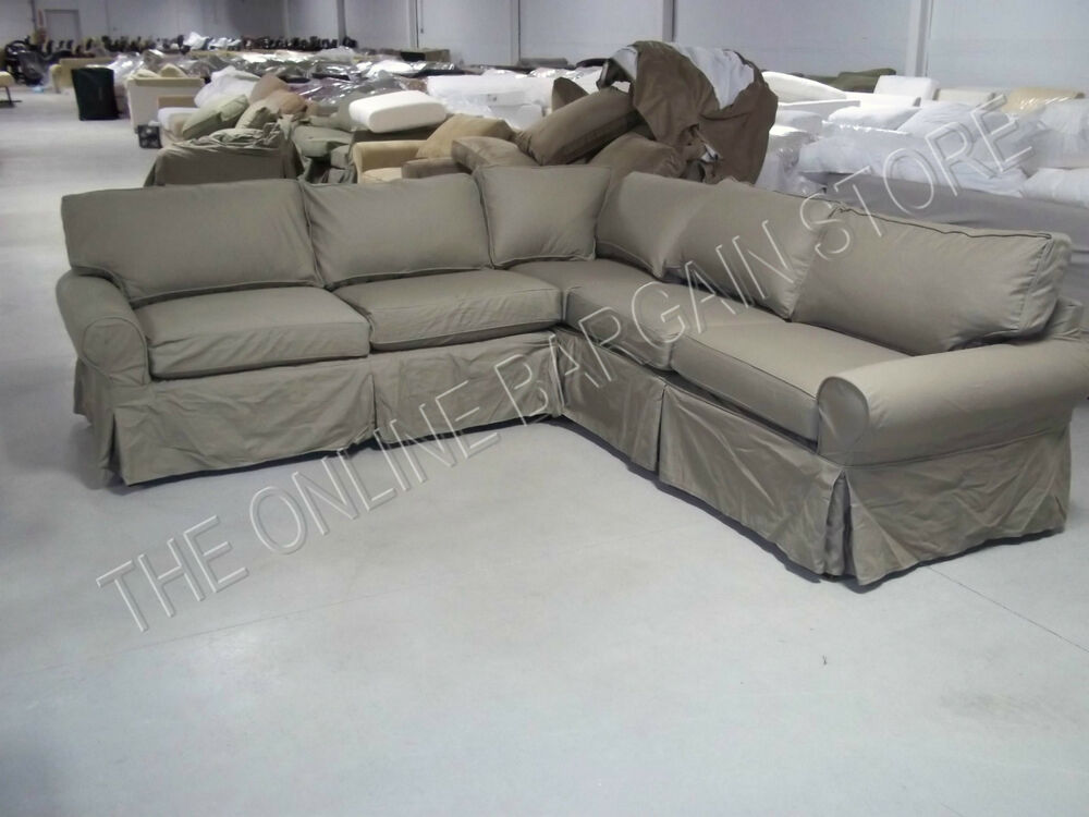 sage sofa slipcovers loveseat and sets on sale pottery barn pb basic modular sectional w/ slipcover ...