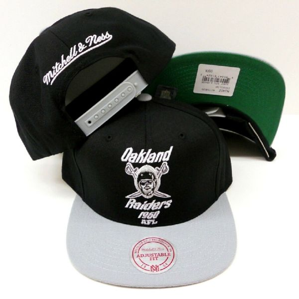Mitchell And Ness Oakland Raiders Hat - Year of Clean Water