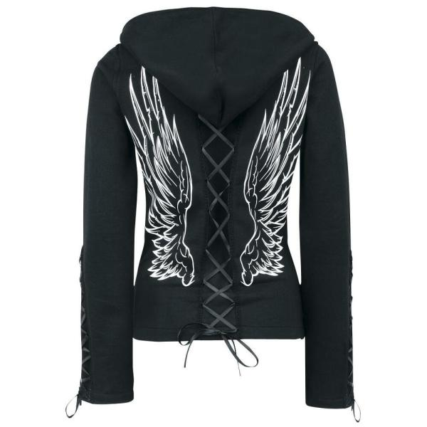 Poizen Industries Angel Wings Gothic Emo Punk Ladies Girls