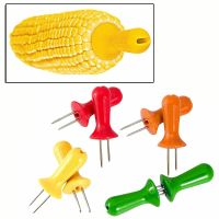 Zyliss 4 Pairs Of Corn On The Cob Holders E40001 Skewers ...