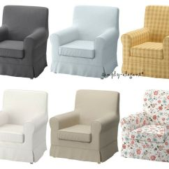 Ikea Jennylund Chair Covers Uk How To Make Sashes Cover Ektorp Armchair Slipcover Assorted Colors Patterns Ebay
