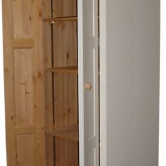 Tall Kitchen Pantry Cabinet Furniture Butcher Block Islands Free Standing Larder Or Provisions Cupboard - Solid Wood ...