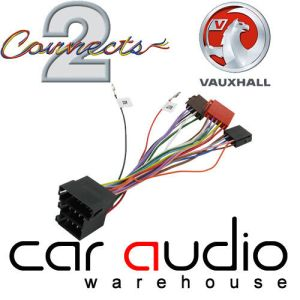 CT20VX02 Vauxhall Opel Astra G Vectra B Corsa C ISO Wiring