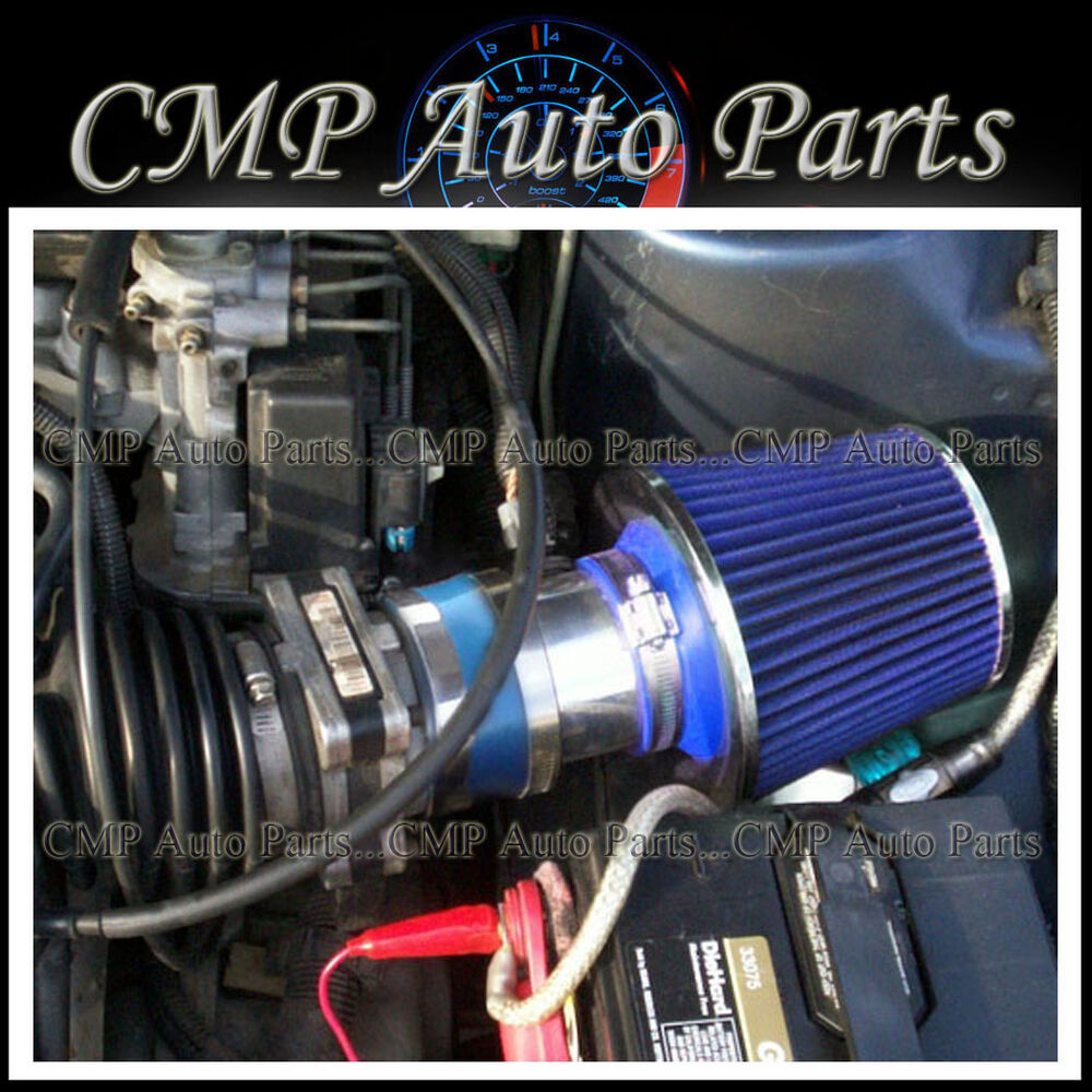 hight resolution of details about blue 1994 1996 chevy beretta corsica z26 3 1 3 1l v6 air intake kit systems