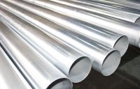 "8"" Schedule 40 Galvanized Pipe Tube Tubing, 12"" Long 