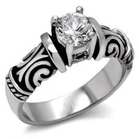 Tribal Irish Celtic Wedding Engagement Ring - Women ...