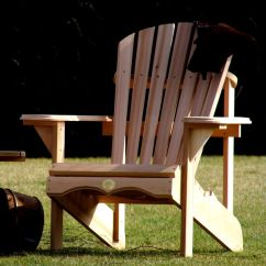 Adirondack Chair Kit Zero Gravity Camping 1 The Bear Bc201c Red Cedar Patio Porch Details About