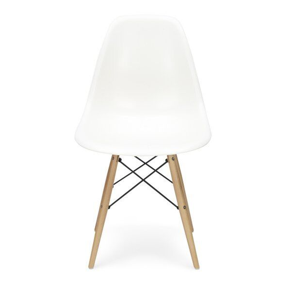 4 x DSW Eames Inspired Eiffel Tower Dining Side Chair Blue