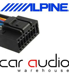 details about autoleads pc3 462 alpine 16 pin iso car stereo radio wiring harness lead cable [ 1000 x 1000 Pixel ]