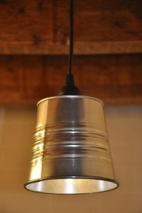 NEW Industrial Look Pendant Light Fixture Lamp Galvanized ...