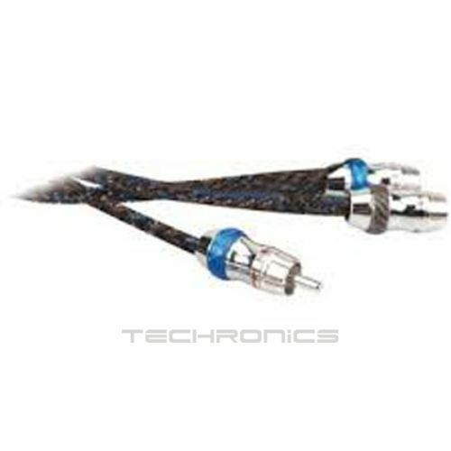 SCOSCHE Y CABLE TWISTED RCA CAR AUDIO INTERCONNECT