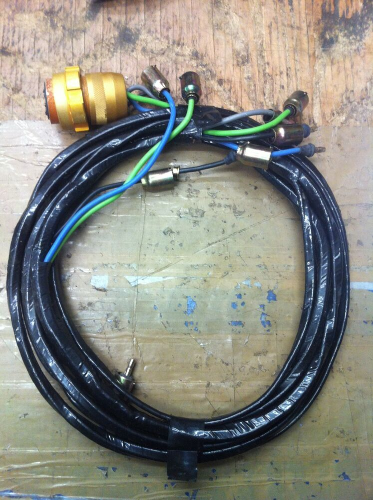 Jeep Willys M38 Early Headlight Wiring Harness G 740
