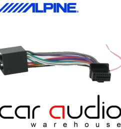 details about alpine 16 pin iso car stereo radio wiring harness lead cable connects2 ct21al01 [ 1000 x 1000 Pixel ]