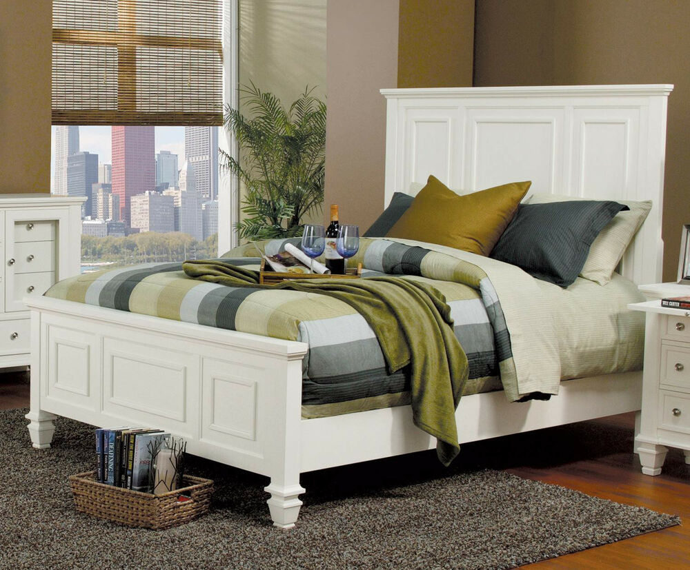 Classic Bedroom Set King  Queen Size Bed Master Bedroom Furniture 4pcs Set  eBay
