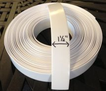 "1 2"" Vinyl Strapping Patio Furniture Repair 45' Roll"