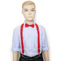 Red Suspender and Bow Tie Set for Baby Toddler Kids Boys ...