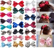 "6"" large handmade girls ribbon"