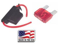 10 GAUGE INLINE MAXI FUSE HOLDER WITH WATERPROOF COVER ...