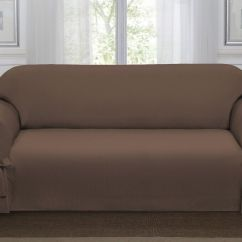 Garden Recliner Chair Covers Party Rentals Tables And Chairs Chocolate Brown Lucerne Sofa Slipcover, Couch Cover, Sofa, Chair, 4 Colors   Ebay