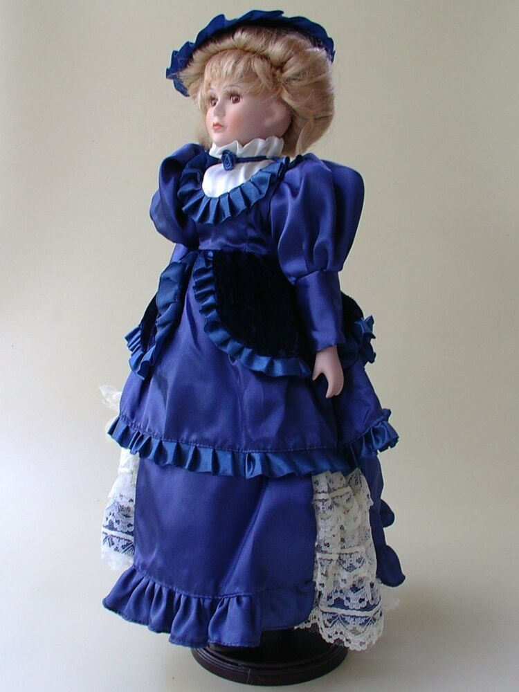 Collectible Vintage Porcelain Limited Edition Doll 18