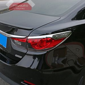 New ABS Chrome Trim Rear Tail Light Cover For Mazda 6
