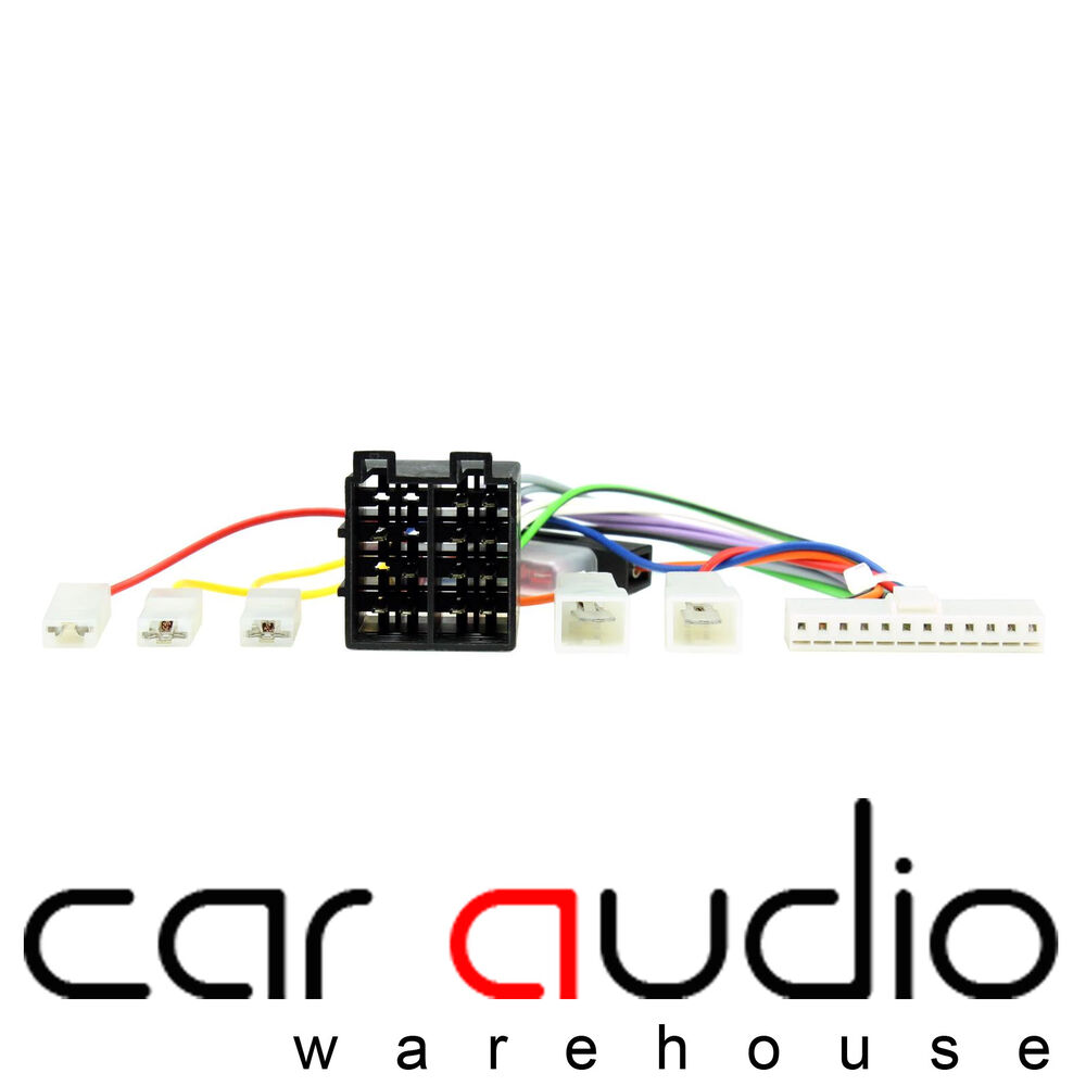 medium resolution of details about pioneer 12 pin iso head unit replacement car stereo wiring harness ct21pn01