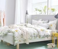 IKEA Duvet STRANDKRYPA Comforter Cover Country Floral ...