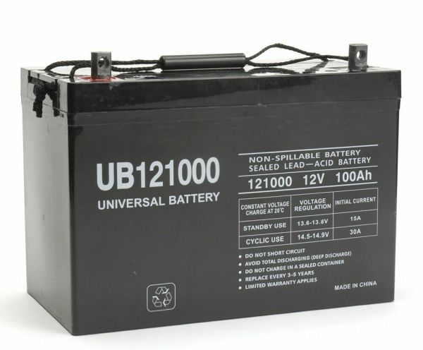 Ub121000 45978 12v 100ah 90ah Battery Scooter Wheelchair Mobility Deep Cycle