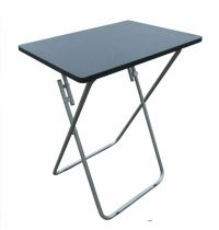 Small Folding Foldable TV Table Tea Coffee Occasional Bed ...