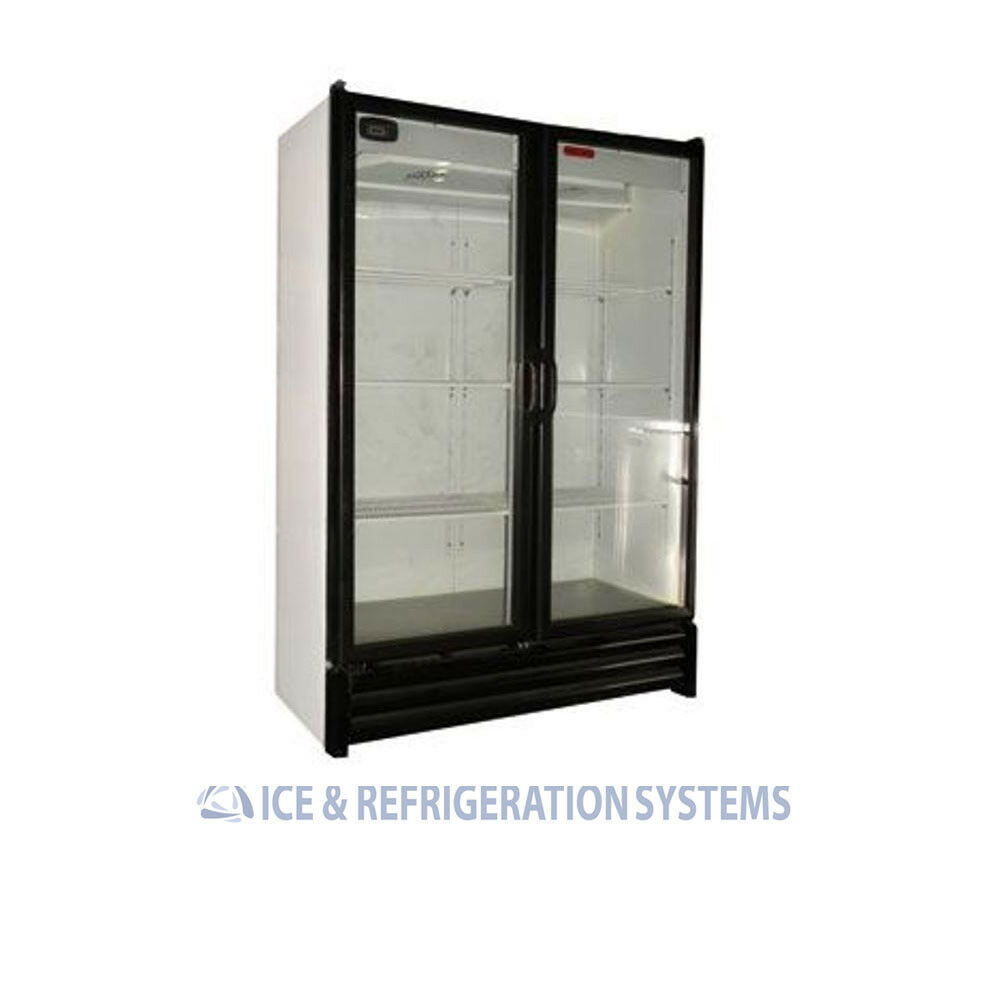 TORREY 28CF BEER SODA BEVERAGE GLASS DOOR REFRIGERATOR