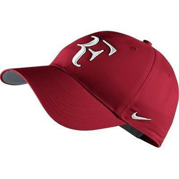 Nike Hybrid Rf Roger Federer Hat 371202-621 Gym Red