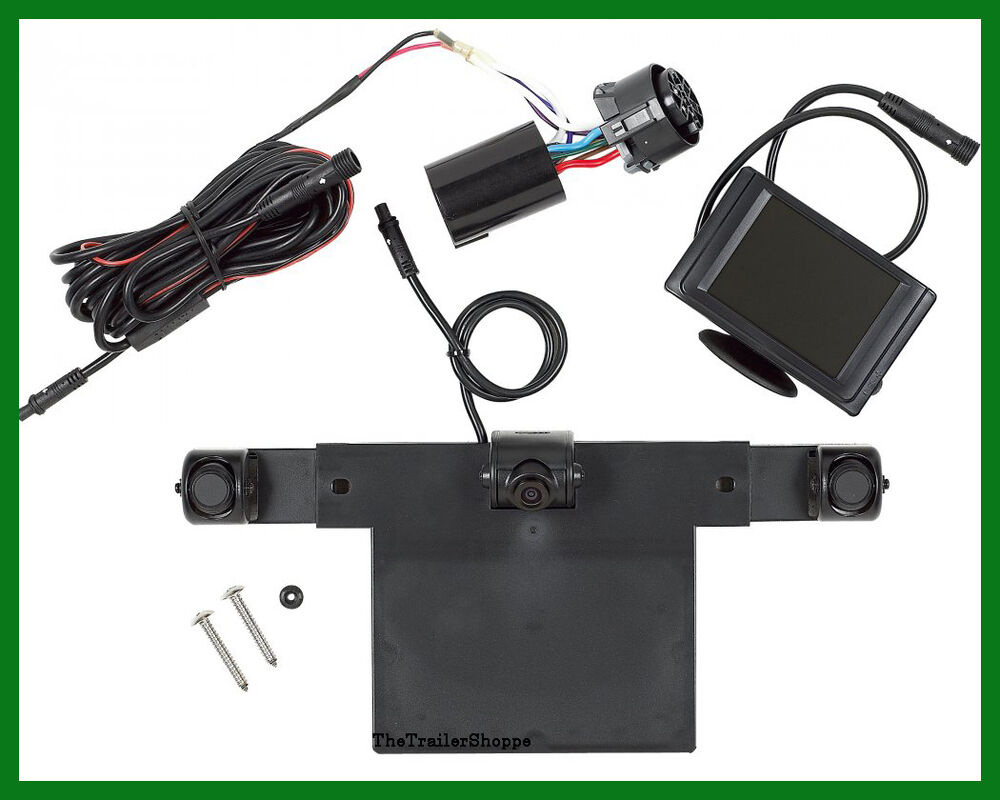 Hopkins Smart Hitch Back Up Camera And Sensor System