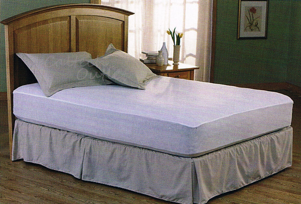Mattress Cover Single Full Queen Size Fitted Plastic Bed