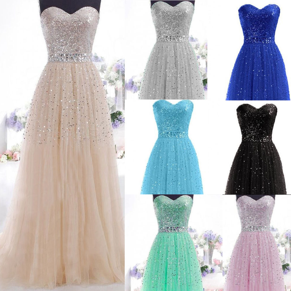 New Formal Long Evening Ball Gown Party Prom Bridesmaid
