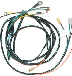 1956 corvette engine wiring harness new reproduction auto [ 1000 x 931 Pixel ]