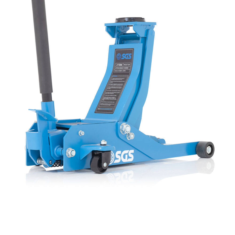 2 Ton Ultra Low Profile Professional Service Trolley Jack