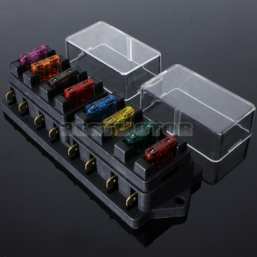 hight resolution of universal car 8 way circuit ato standard blade fuse build universal car fuse box 12v fuse