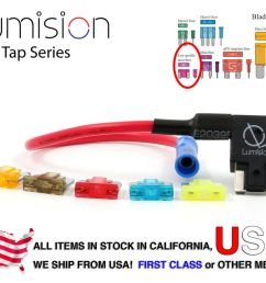 details about add a circuit blade style atm low profile mini fuse holder fuse tap fuse set [ 1000 x 801 Pixel ]