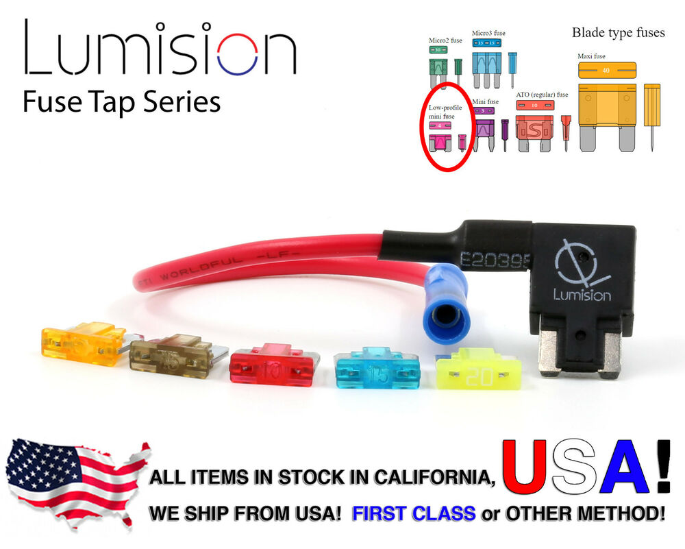 hight resolution of details about add a circuit blade style atm low profile mini fuse holder fuse tap fuse set