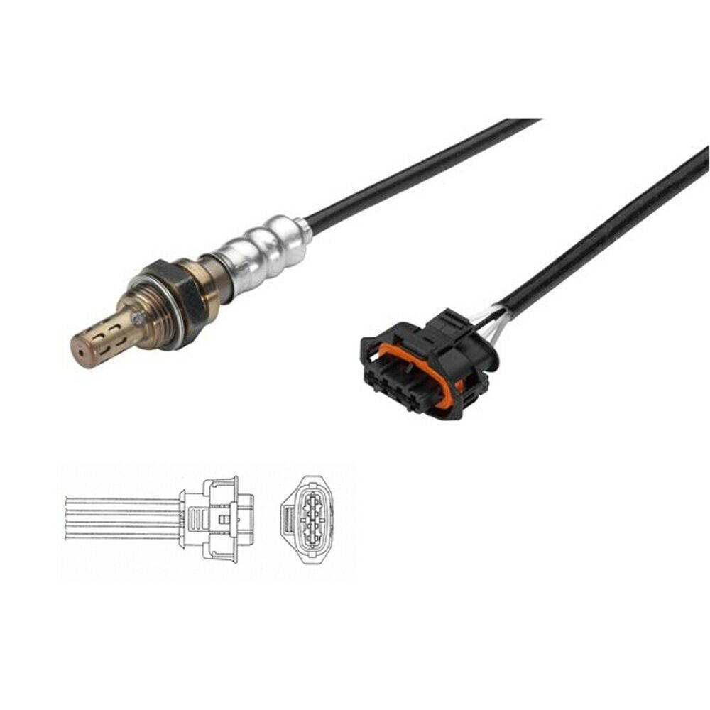 FOR VAUXHALL OPEL CORSA C D 1.0 1.2 1.4 FRONT REAR 4 WIRE