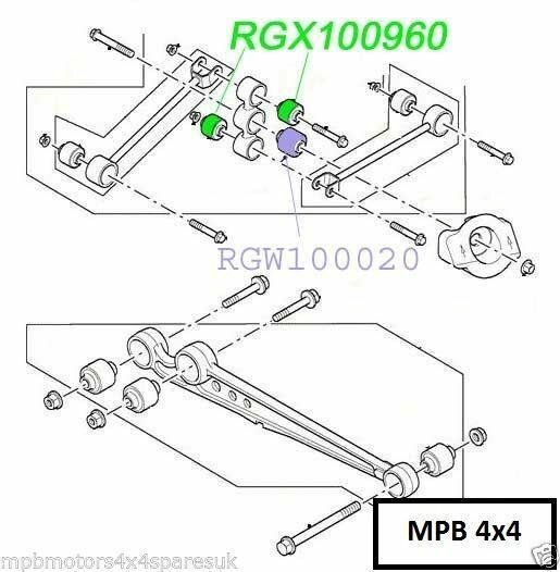 LAND ROVER DISCOVERY 2 98-04 GENUINE WATTS LINKAGE TOP OR