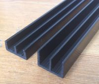 3ft Vivarium Cabinet 4mm Glass Track Runners - 90cm long ...