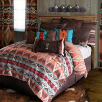 Mojave Sunset Tuscan Rustic Western Comforter Bedding Set