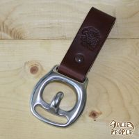 Leather Work Belt Loop Holder / Tool, Tape Measure, Clip