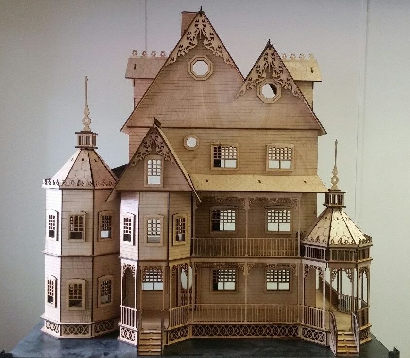 Ashley II Gothic Victorian Mansion Dollhouse Very Large